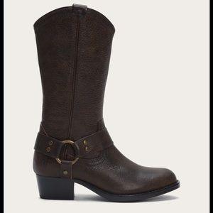 Frye WYATT harness western boot 3